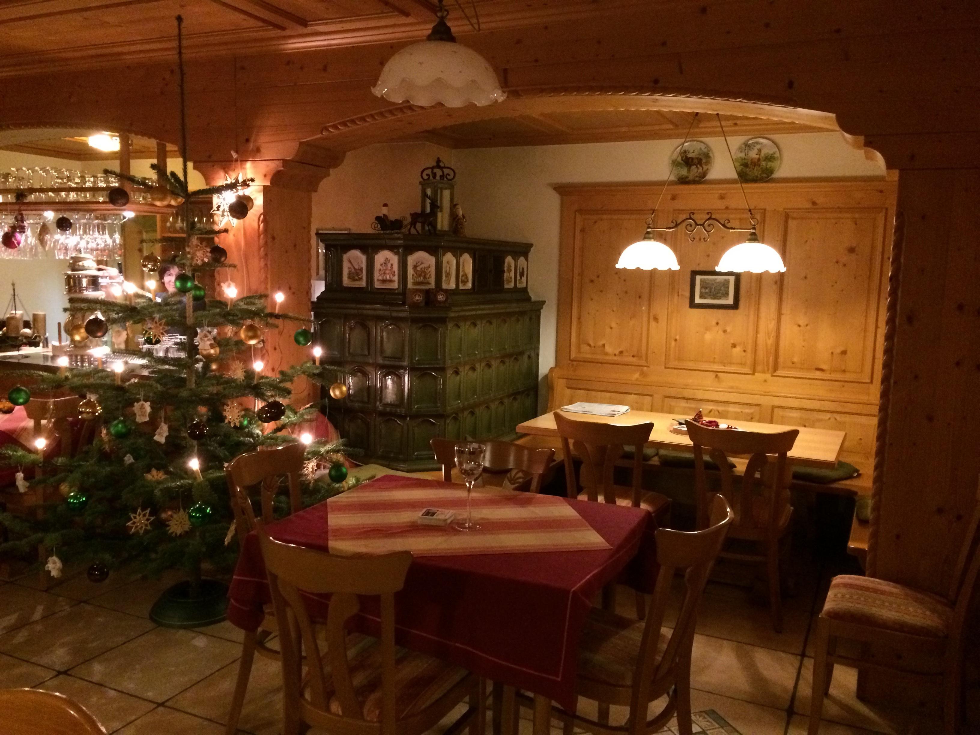 Ofen Weihnachten